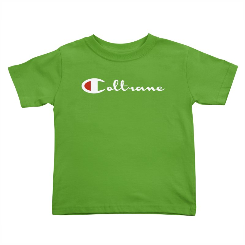 Coltrane Athletics Kids Toddler T-Shirt by Cornerstore Classics