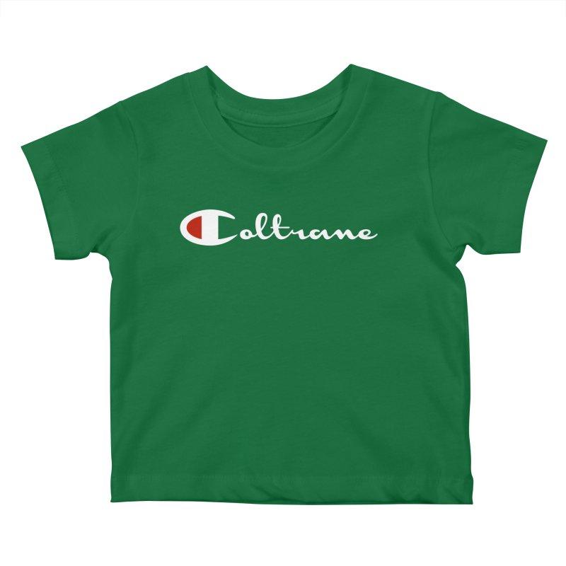 Coltrane Athletics Kids Baby T-Shirt by Cornerstore Classics