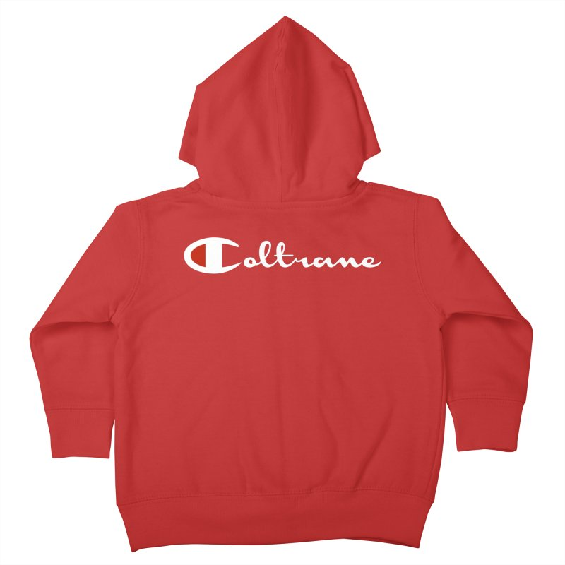 Coltrane Athletics Kids Toddler Zip-Up Hoody by Cornerstore Classics