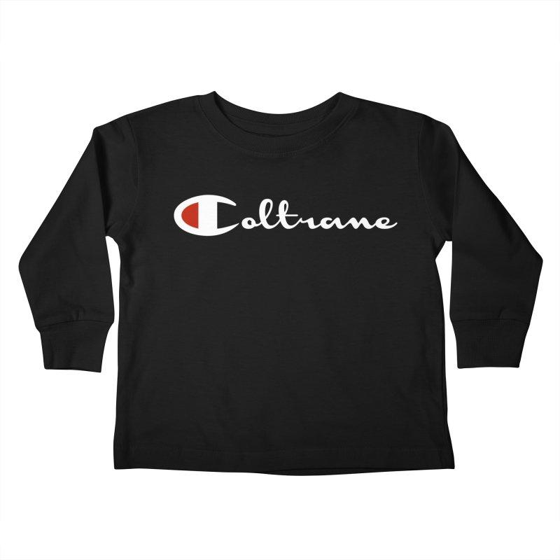 Coltrane Athletics Kids Toddler Longsleeve T-Shirt by Cornerstore Classics