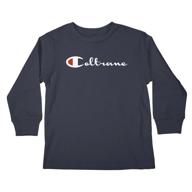 Coltrane Athletics Kids Longsleeve T-Shirt by Cornerstore Classics