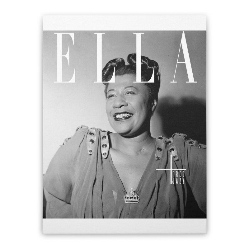 ELLA Magazine Home Stretched Canvas by Cornerstore Classics