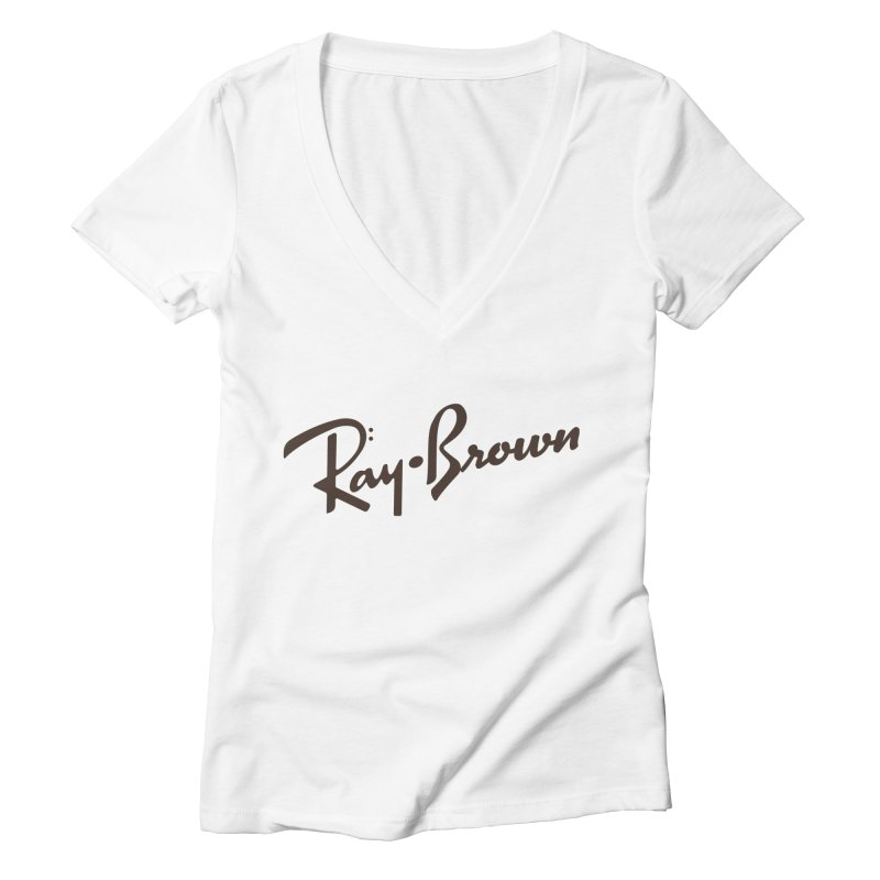 Ray Brown Cool Women's V-Neck by Cornerstore Classics