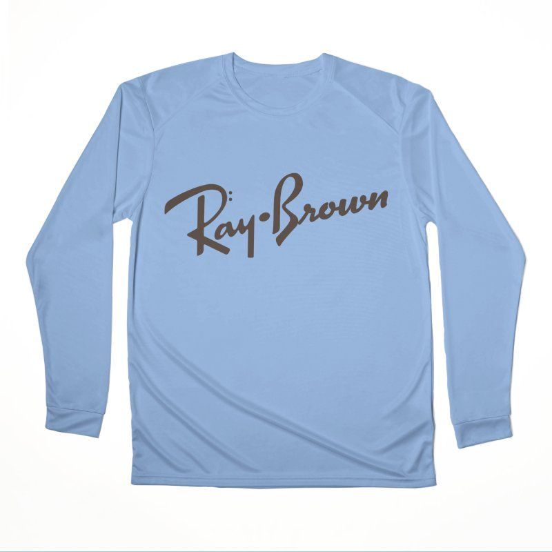Ray Brown Cool Men's Longsleeve T-Shirt by Cornerstore Classics