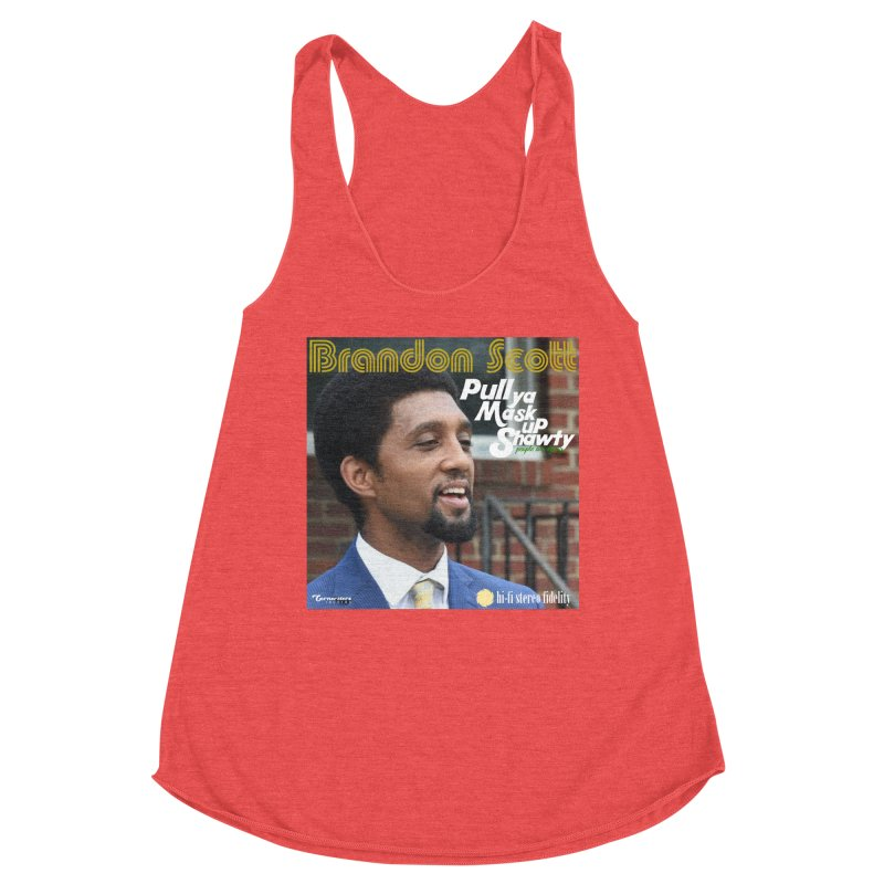 Pull Ya Mask Up Shawty Women's Tank by Cornerstore Classics