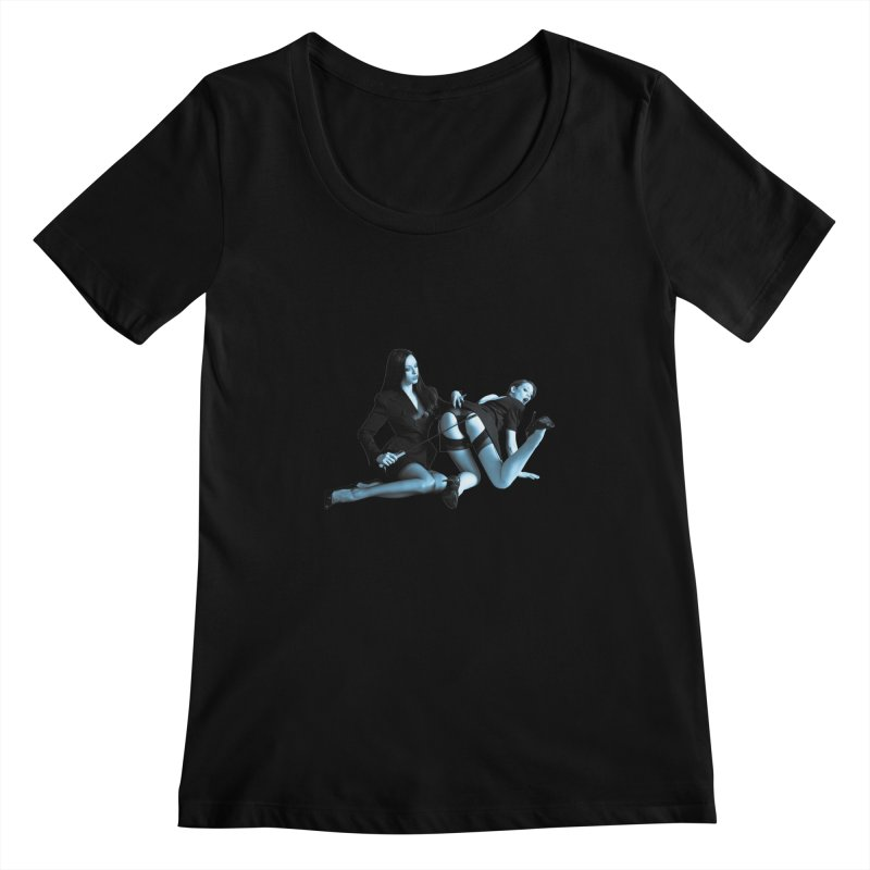 Conference Room Women's Scoopneck by Corporate Vampire's Artist Shop