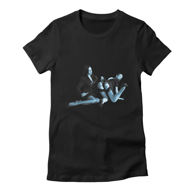 Conference Room Women's Fitted T-Shirt by Corporate Vampire's Artist Shop
