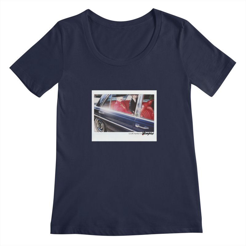 The Chauffeur Women's Scoopneck by Corporate Vampire's Artist Shop