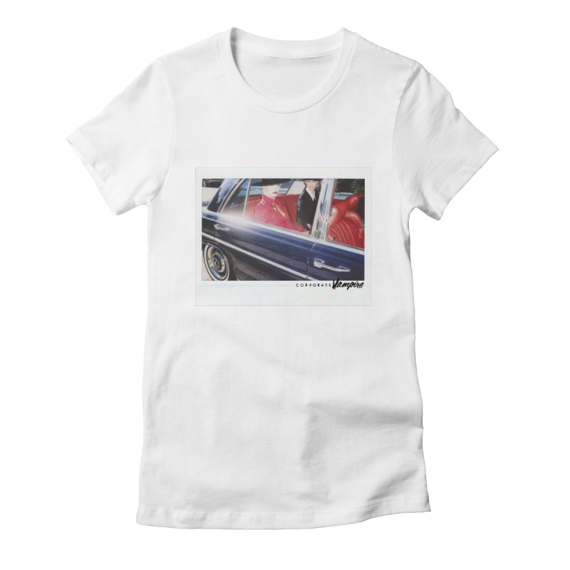 The Chauffeur Women's Fitted T-Shirt by Corporate Vampire's Artist Shop