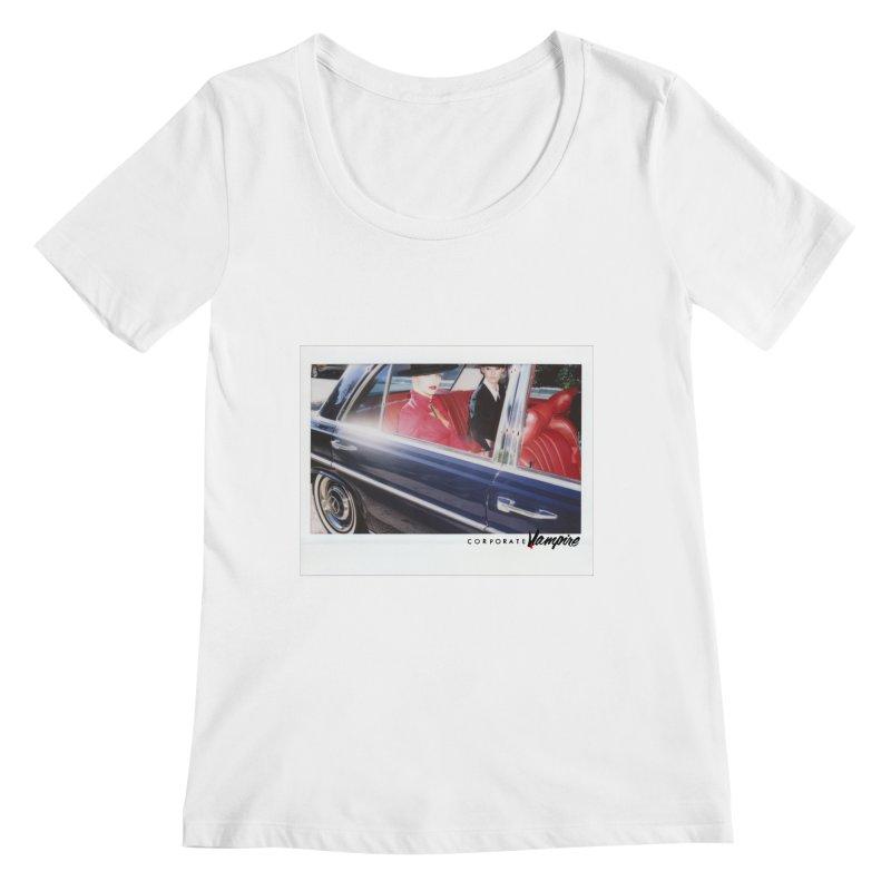 The Chauffeur Women's Scoopneck by Corporate Vampire's Artist Shop