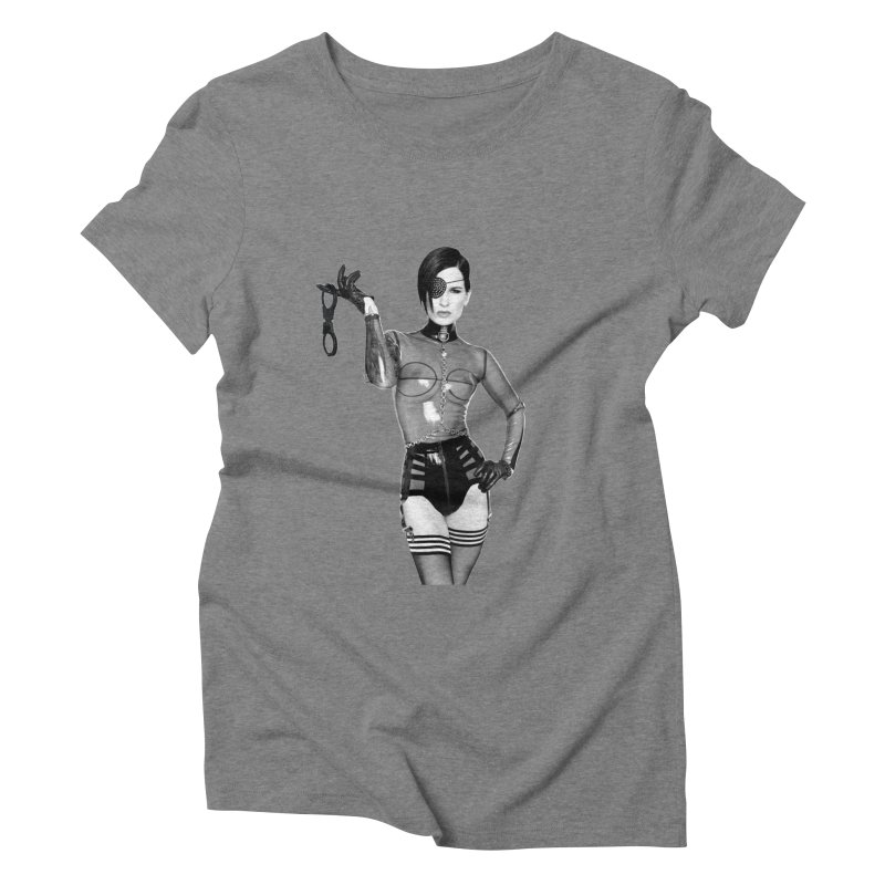 Obey Your Mistress Women's Triblend T-Shirt by Corporate Vampire's Artist Shop