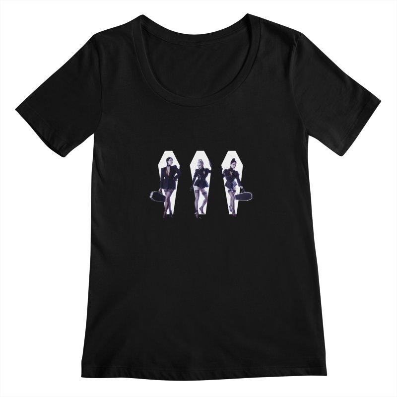 The Vamps Women's Scoopneck by Corporate Vampire's Artist Shop
