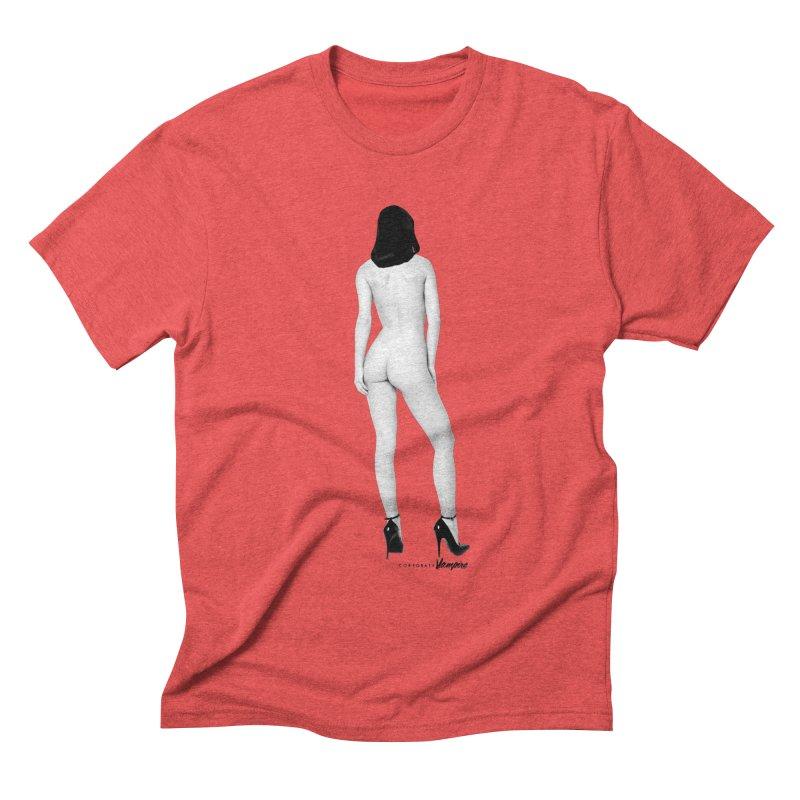 Turn Around Dark Eyes Men's Triblend T-shirt by Corporate Vampire's Artist Shop