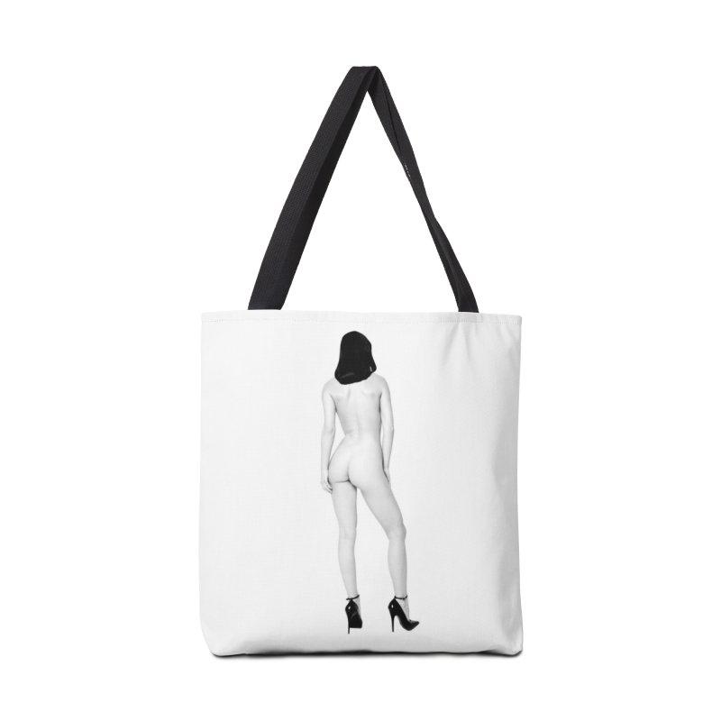 Turn Around Dark Eyes Accessories Bag by Corporate Vampire's Artist Shop