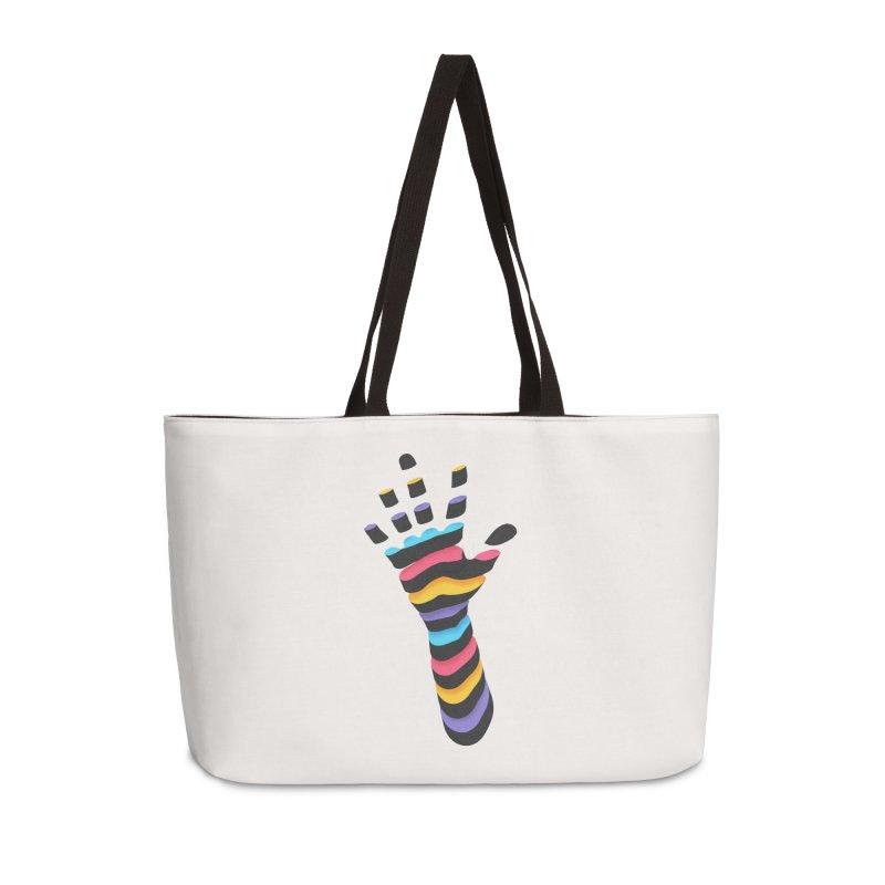 Sliced Accessories Weekender Bag Bag by Corsac's Artist Shop
