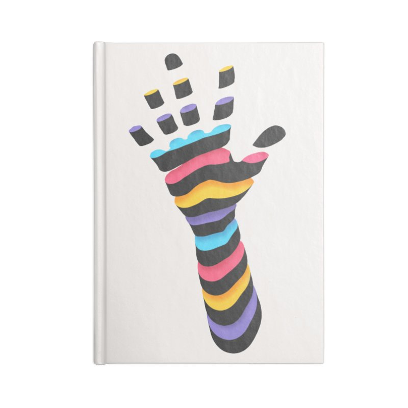 Sliced Accessories Blank Journal Notebook by Corsac's Artist Shop