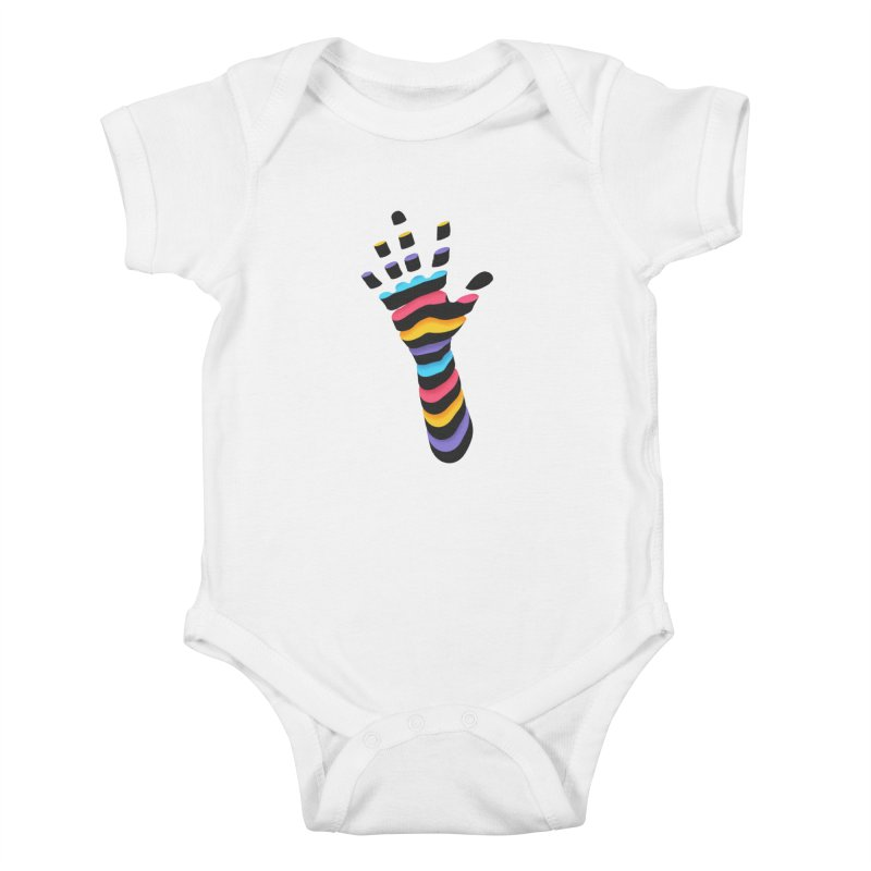 Sliced Kids Baby Bodysuit by Corsac's Artist Shop