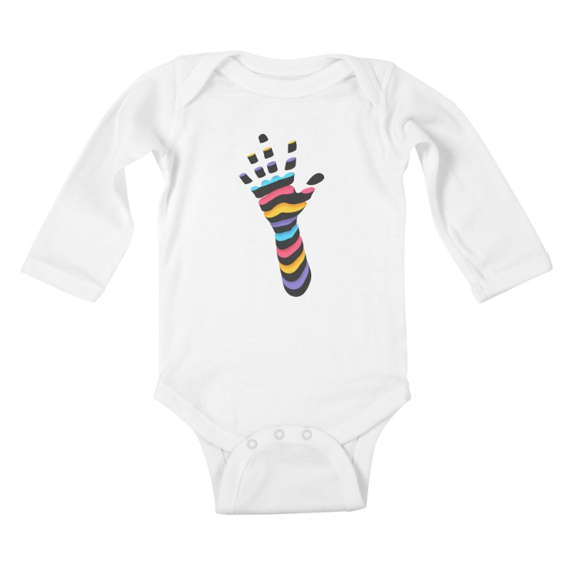 Sliced Kids Baby Longsleeve Bodysuit by Corsac's Artist Shop
