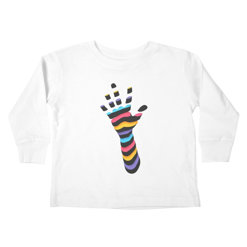 Sliced Kids Toddler Longsleeve T-Shirt by Corsac's Artist Shop