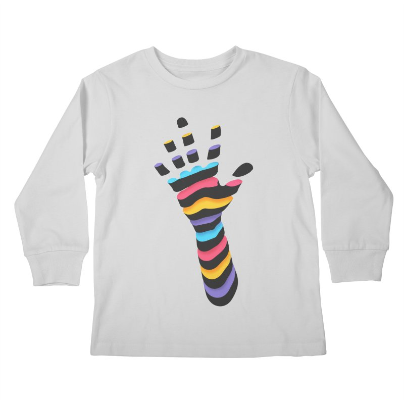 Sliced Kids Longsleeve T-Shirt by Corsac's Artist Shop