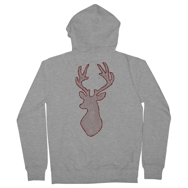 My Deer Tree Women's Zip-Up Hoody by Corsac's Artist Shop