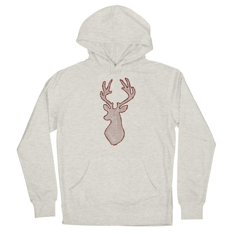 My Deer Tree Men's Pullover Hoody by Corsac's Artist Shop
