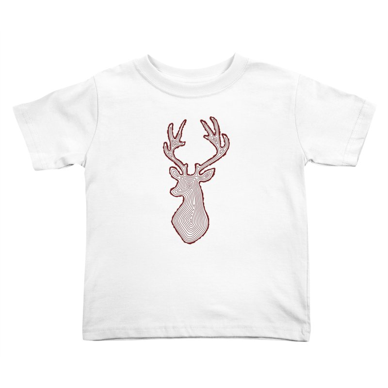 My Deer Tree Kids Toddler T-Shirt by Corsac's Artist Shop