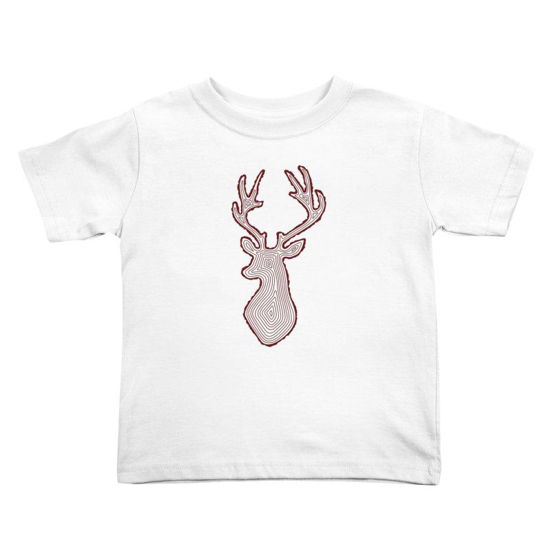 My Deer Tree Kids Toddler T-Shirt by Corsac's Artist Shop