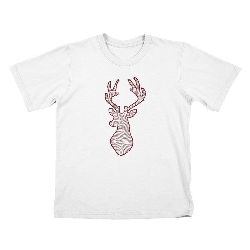 My Deer Tree Kids T-Shirt by Corsac's Artist Shop