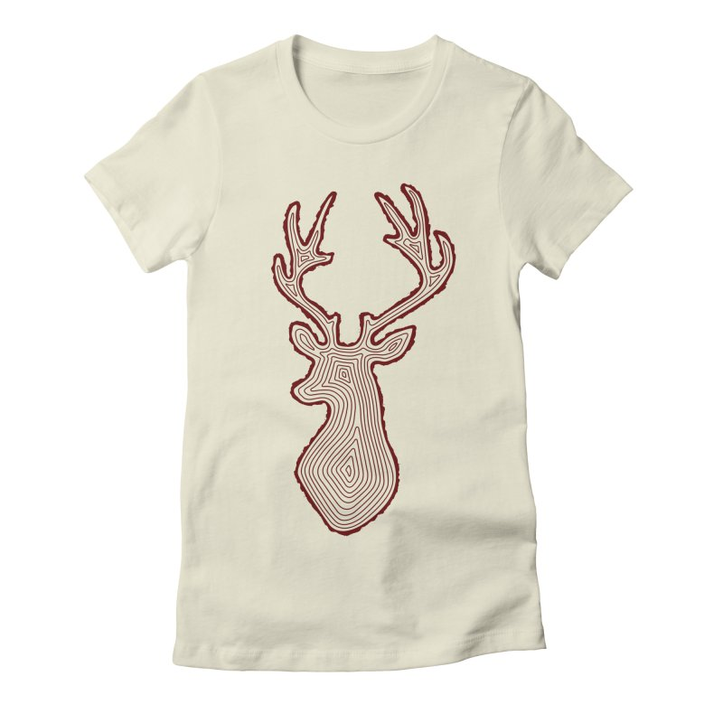 My Deer Tree Women's T-Shirt by Corsac's Artist Shop