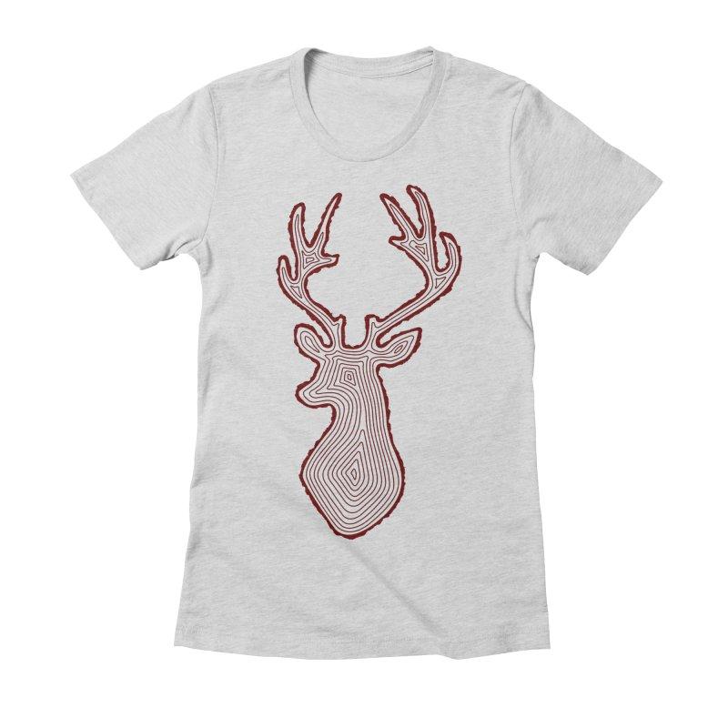 My Deer Tree Women's T-Shirt by Corsac's Artist Shop