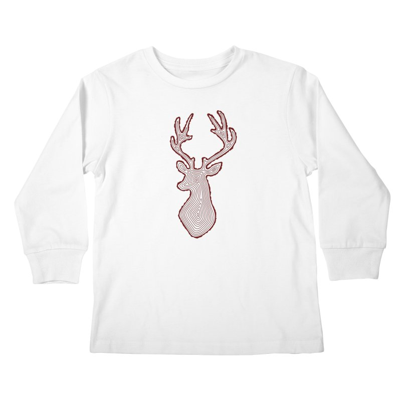 My Deer Tree Kids Longsleeve T-Shirt by Corsac's Artist Shop