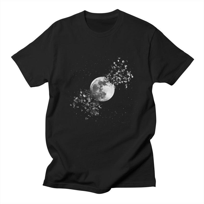 Moon Explosion Men's T-Shirt by Corsac's Artist Shop