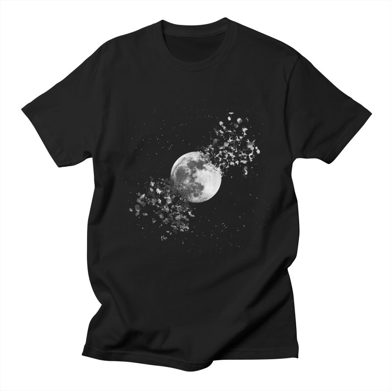Moon Explosion Men's T-Shirt by Corsac's Artist Shop
