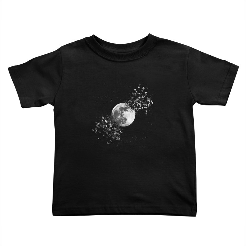 Moon Explosion Kids Toddler T-Shirt by Corsac's Artist Shop