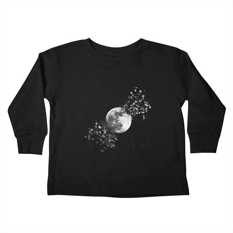 Moon Explosion Kids Toddler Longsleeve T-Shirt by Corsac's Artist Shop