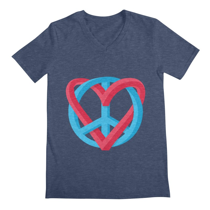 Peace + Love   by Corsac's Artist Shop