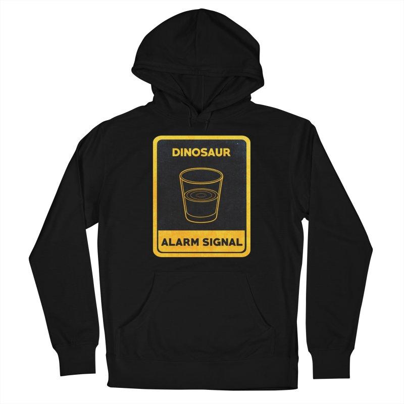 Dinosaur Alarm Signal Men's Pullover Hoody by Corsac's Artist Shop