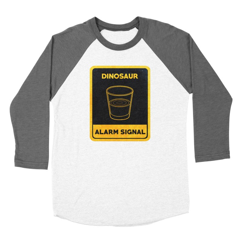 Dinosaur Alarm Signal Women's Longsleeve T-Shirt by Corsac's Artist Shop