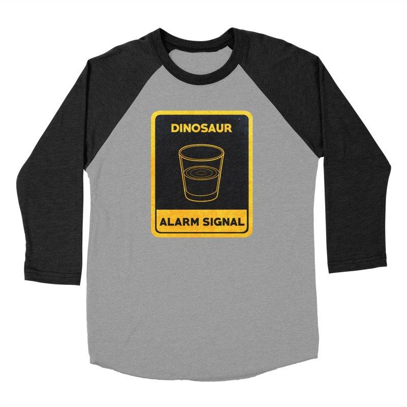 Dinosaur Alarm Signal Men's Longsleeve T-Shirt by Corsac's Artist Shop