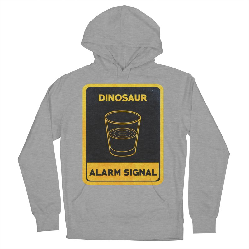 Dinosaur Alarm Signal Women's French Terry Pullover Hoody by Corsac's Artist Shop