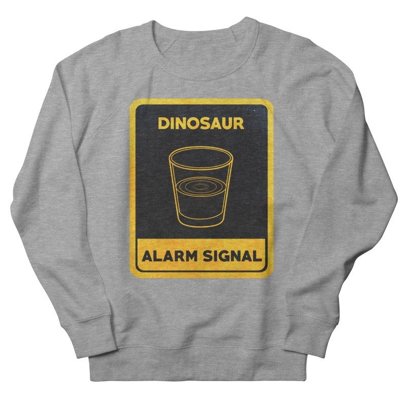 Dinosaur Alarm Signal Women's French Terry Sweatshirt by Corsac's Artist Shop