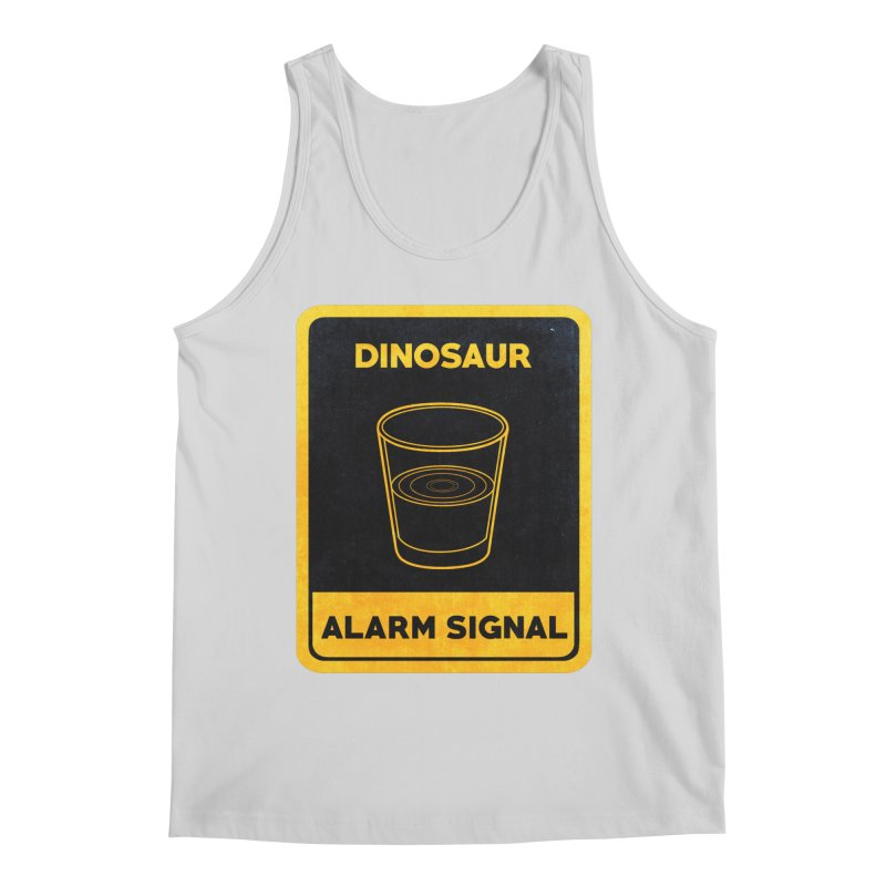 Dinosaur Alarm Signal Men's Regular Tank by Corsac's Artist Shop