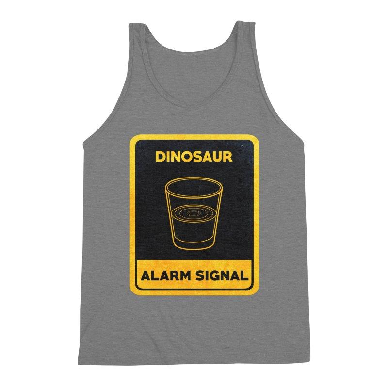 Dinosaur Alarm Signal Men's Tank by Corsac's Artist Shop