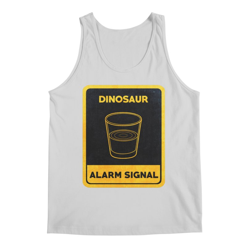 Dinosaur Alarm Signal Men's Regular Tank by Corsac's Artist Shop