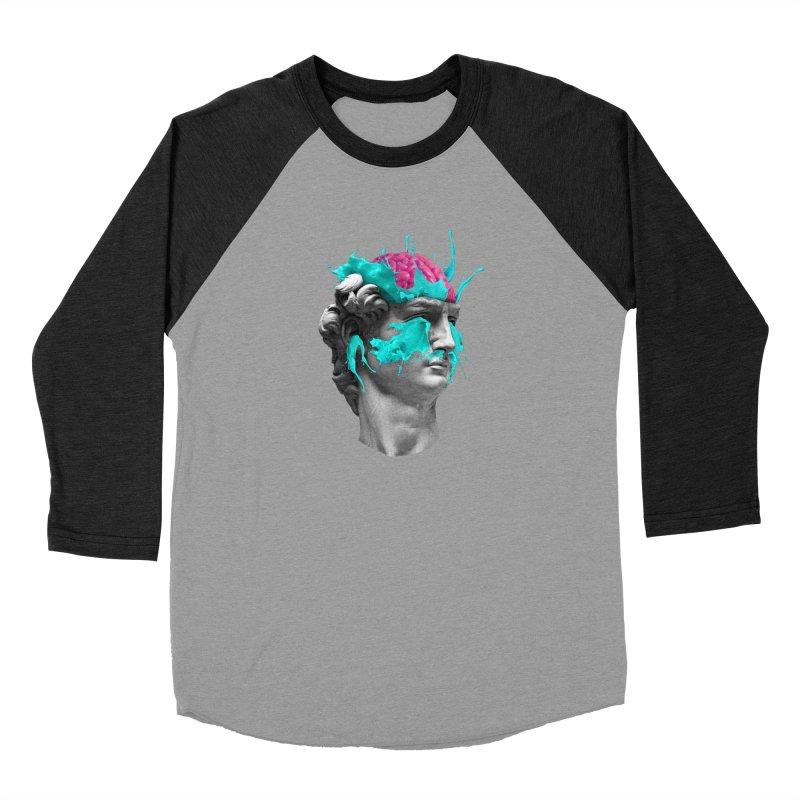 Dave Brain Women's Baseball Triblend Longsleeve T-Shirt by Corsac's Artist Shop