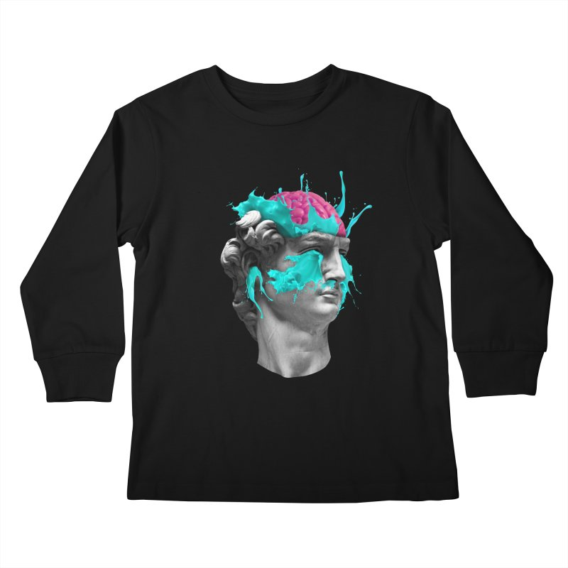 Dave Brain Kids Longsleeve T-Shirt by Corsac's Artist Shop