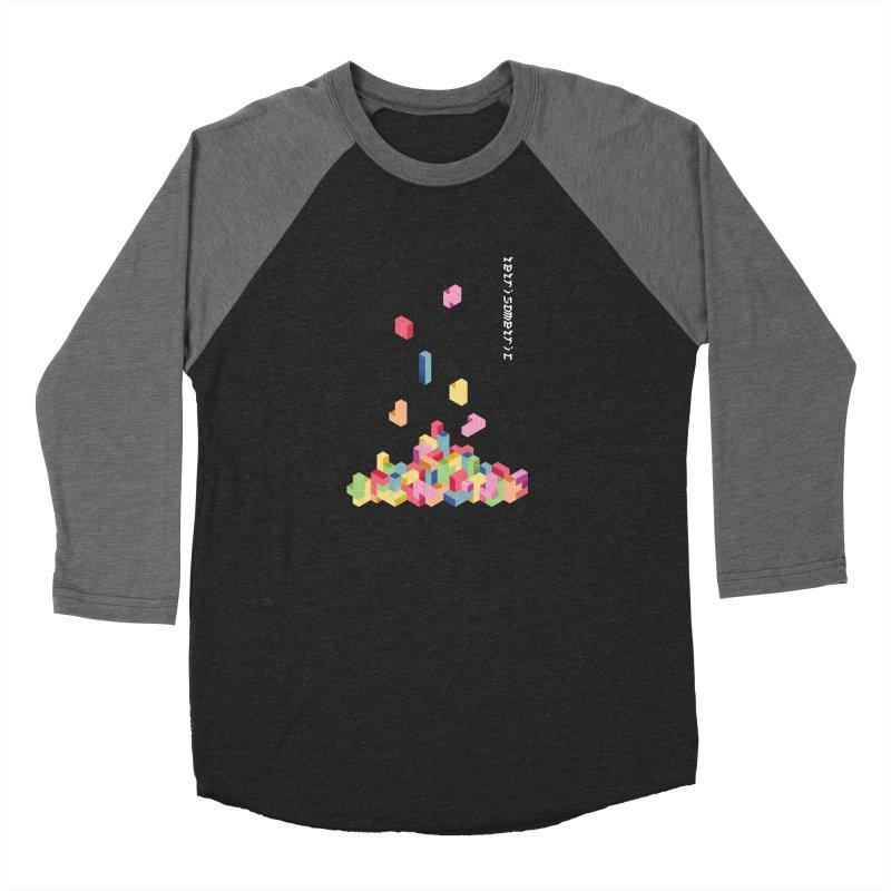 Tetrisometric Women's Longsleeve T-Shirt by Corsac's Artist Shop
