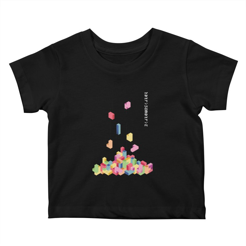 Tetrisometric Kids Baby T-Shirt by Corsac's Artist Shop
