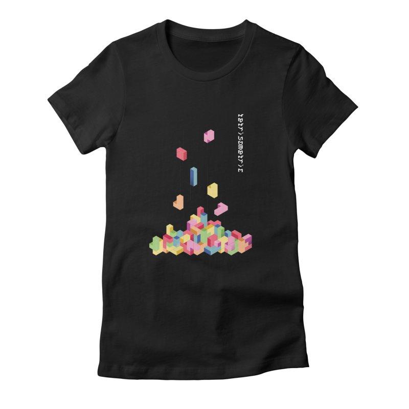Tetrisometric Women's T-Shirt by Corsac's Artist Shop